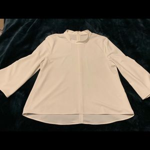 Halogen Tops - Halogen White Blouse - Worn only once!